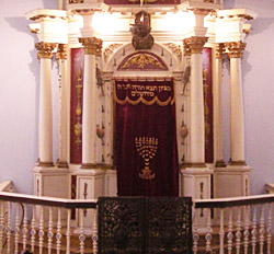 Ark in a Synagogue in Corfu